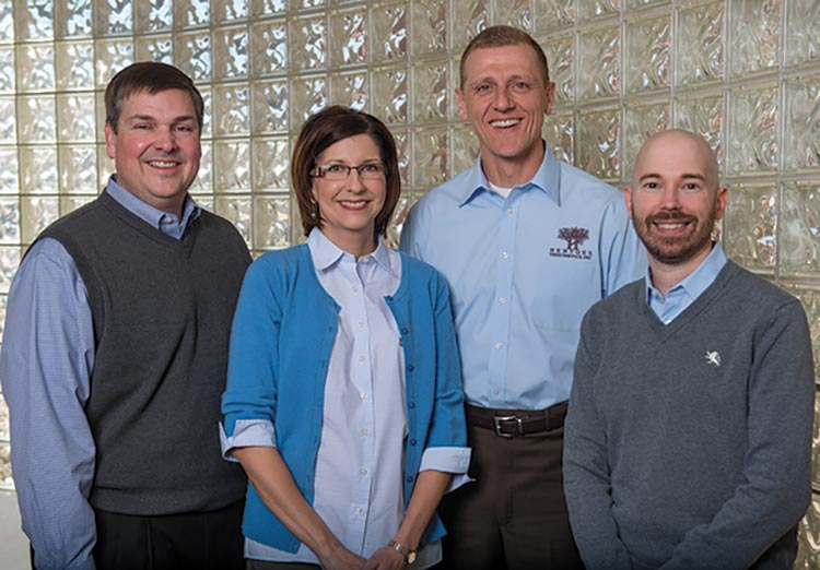 James and Julie Hentges, owners of Hentges Tree Service, rely on Trae Lorts, CPA, CVA, and Jeremy Morris, CPA, to provide forward-thinking advice for their growing multi-generational business.