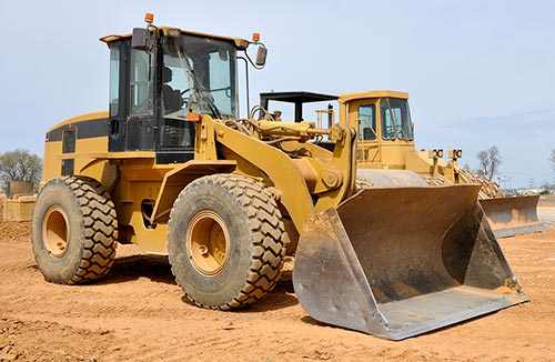 photo of heavy equipment