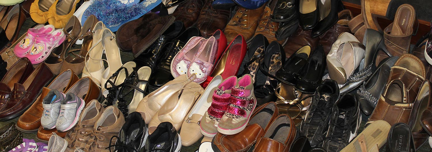 Shoe-in for foster care