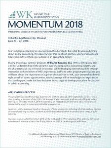 2018 Momentum flyer