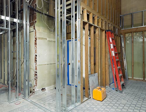 Photo of a commercial renovation