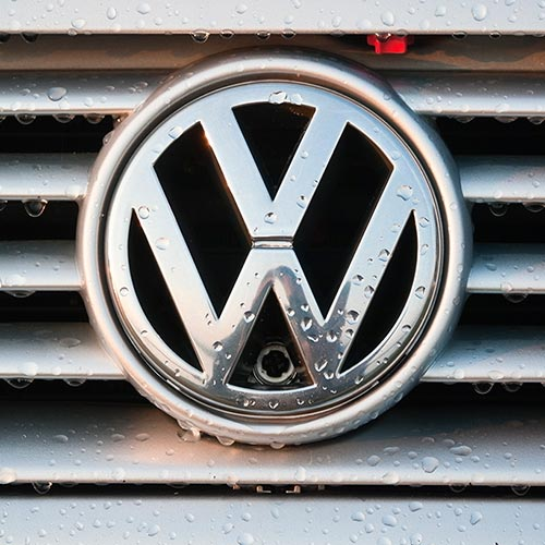 VW grille