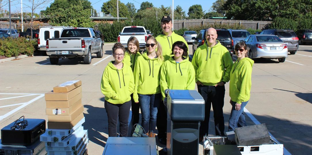 WK collects over a ton of e-waste during recycling event
