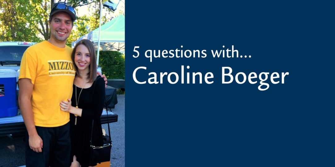 Five Questions with. . .Caroline Boeger